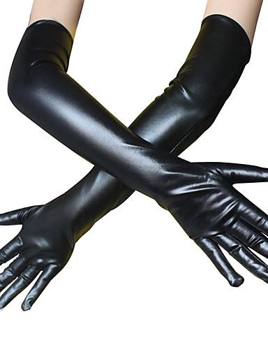 Zentai asut Käsineet Kissapuku Moottoripyörä tyttö Aikuisten Cosplay-asut Cosplay Halloween Naisten Musta Yhtenäinen Halloween Masquerade / Ihon puku / Ihon puku