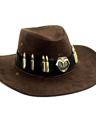 Sombrero   Gorra Inspirado por overwatch Cosplay Animé Accesorios de Cosplay  Sombrero Felpa Disfraces de Halloween 288976aa3bb