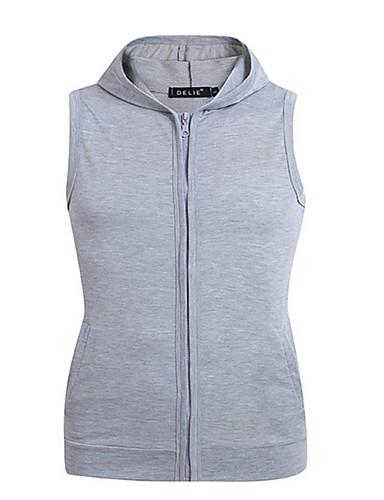 abordables Sweat-shirts Homme-Homme Simple Veste Capuche Couleur Pleine
