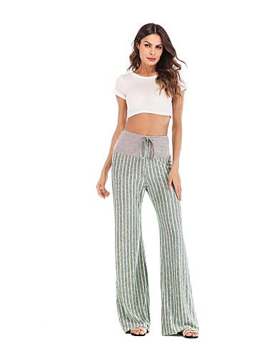 Pants & Capris Bottoms Hard-Working Plus Size Women Winter Pants Sweatpants New Korean Gold Velvet Loose Wide Leg Pants Casual Striped Pants Women Trousers Year-End Bargain Sale