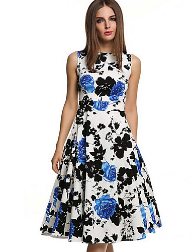 cheap Women  039 s Dresses-Women  039 s Swing Dress - 7bf42e1a6c94