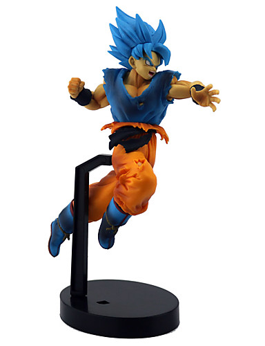 billige Anime cosplay-Anime Action Figurer Inspirert av Dragon Ball Son Goku PVC 21 cm CM Modell Leker Dukke