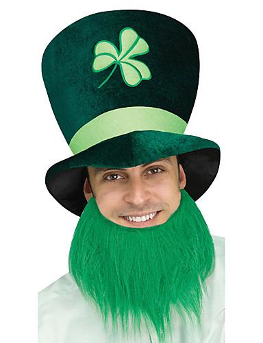 voordelige Cosplay & Kostuums-Peter Pan Snor Volwassenen Oranje / Groen Stof Feest Cosplayaccessoires Halloween / Carnaval / Maskerade kostuums / St Patricks Day