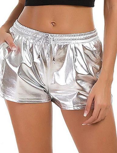 abordables Pantalons Femme-Femme Sportif Mince Chino Pantalon - Couleur Pleine Noir Bleu clair Violet S M L