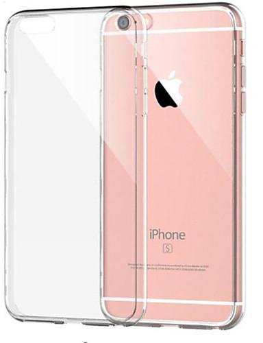 Pouzdro Uyumluluk Apple iPhone 8 Plus / iPhone 8 / iPhone 7 Plus Şoka Dayanıklı / Şeffaf Arka Kapak Solid Yumuşak TPU