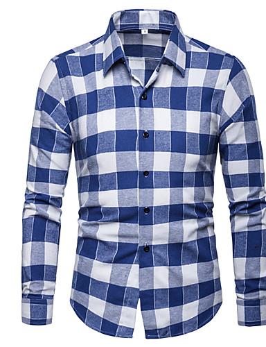 e77daccffc Precio · Liquidación · Liquidación · abordables Camisas de Hombre-Hombre  Talla EU   US Camisa A Cuadros