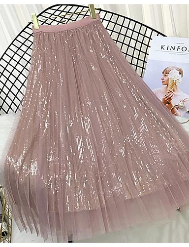 0de3ed0f4551 γυναικεία φούστες swing midi - συμπαγές χρώμα. $22.87. USD $15.99(4). Χαμηλού  Κόστους Γυναικείες ...