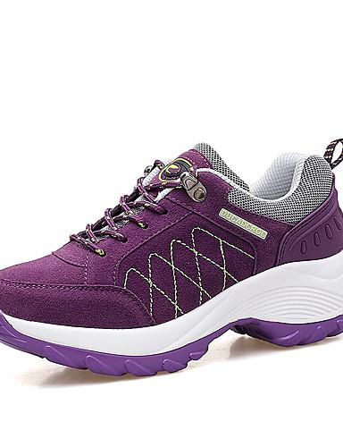 4a227e7dfc8 Γυναικεία Παπούτσια Τρεξίματος Αθλητικά Παπούτσια PU TPU (Θερμοπλαστική  Πολυαιθουράνη) Ταξίδια Περπάτημα Τρέξιμο Ελαφρύ Αναπνέει Άνετο Χνούδι Μαύρο  Φούξια ...