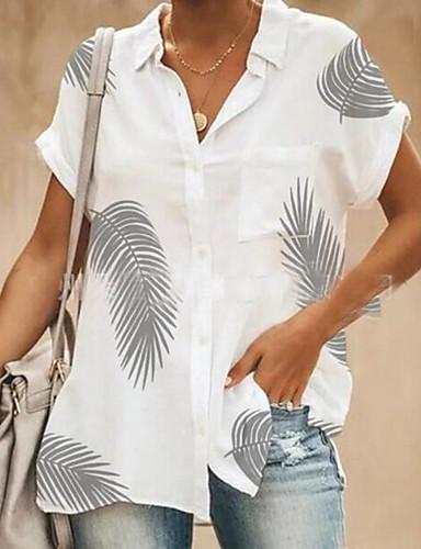 ec2afa299004 economico Top e completi da donna-Camicia Per donna Pop art Bianco L