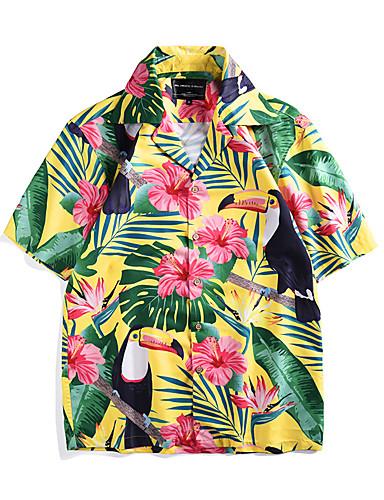 Недорогие Этнический и культурный костюмы-Aloha Хула танцор Взрослые Муж. Жен. На каждый день Пляжный стиль Как у футболки Гавайские костюмы Костюмы Луау Назначение Для вечеринок На каждый день фестиваль Полиэстер Блузка