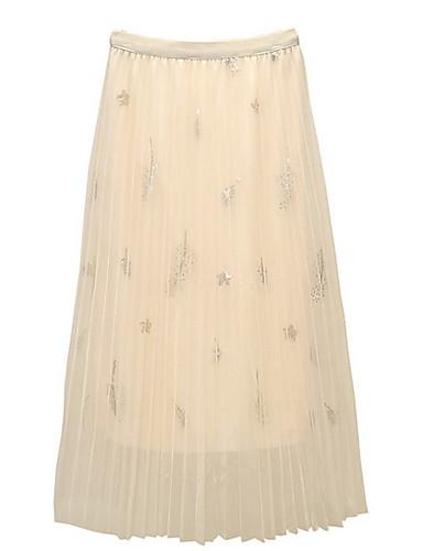 0fe7078faee Χαμηλού Κόστους Γυναικείες Φούστες-γυναικεία midi μια φούστα γραμμή -  γεωμετρική · γυναικεία midi μια φούστα γραμμή - γεωμετρική