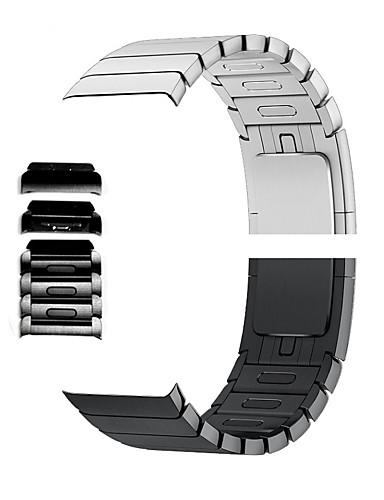 Ver Banda para Apple Watch Series 4/3/2/1 Apple Hebilla Moderna Metal Correa de Muñeca