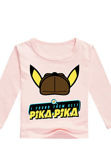 Bambino - Bambino (1-4 Anni) Da Ragazzo Essenziale Con Stampe Con Stampe Manica Lunga Cotone - Elastene T-shirt Grigio #07340452