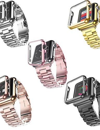 smartwatch הלהקה מקרים עבור Apple Watch סדרה 4/3/2/1 תפוח מודרני אבזם נירוסטה רצועת פלסטיק מקרים iwatch אופנה רצועה