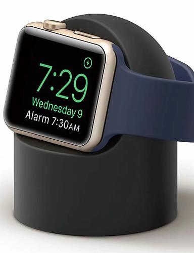 מטען לעמוד מחזיק המזח עבור שעון אפל 1 2 3 4 38mm 42mm סוגר סיליקון טעינה מעמד עריסה עבור iwatch ספורט
