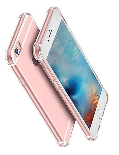 מגן עבור Apple iPhone XS / iPhone XR / iPhone XS Max עמיד בזעזועים / שקוף כיסוי אחורי שקוף רך TPU