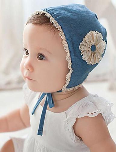 מידה אחת פול כובעים ומצחיות כותנה תחרה / פרח / מסוגנן אחיד / פרחוני וינטאג' / פעיל / בסיסי בנות פעוטות / תינוק