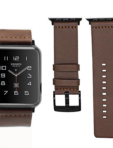 עור אמיתי wristband wristband רצועת רצועת היד לצפות עבור Apple לצפות סדרה 1/2/3/4 38mm 40mm 42mm 44mm