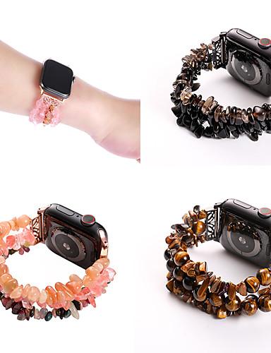 שלוש שורות מקורית האבן smartwatch הלהקה עבור סדרת אפל לצפות 4/3/2/1 עיצוב תכשיטים iwatch רצועה