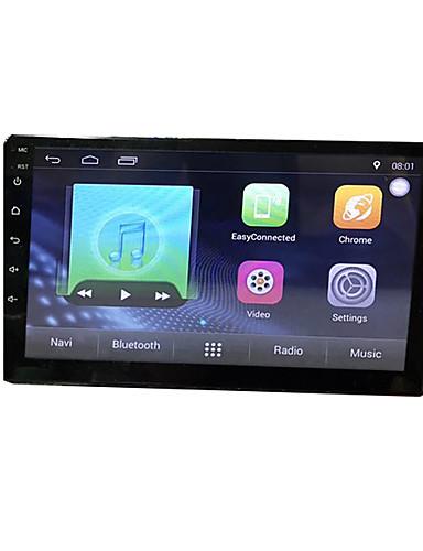 povoljno Auto elektronika-btutz TFT 10.1 inch 2 Din Android 8.1 Car GPS Navigator Ekran na dodir / Ugrađeni Bluetooth / Wifi za Univerzális MicroUSB podrška MPEG / AVI / WMV FLAC / APE JPEG / GIF / BMP / Quad Core