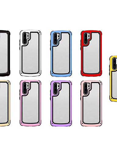 מארז עבור iPhone xs max / iPhone 8 פלוס דפוס / shockproof לכסות אחורית שקוף / מוצק בצבע אקריליק קשה / tpu עבור iPhone 7 / iPhone 6 פלוס / iPhone 6s / iPhone XS / iPhone xr