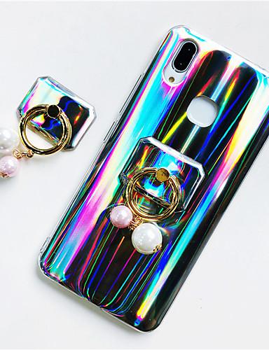 Pouzdro Uyumluluk Huawei Huawei P20 / Huawei P20 Pro / Huawei P20 lite Yüzüklü Tutacak / Işıltılı Parlak Arka Kapak Işıltılı Parlak / Renkli Gradyan Yumuşak TPU / P10