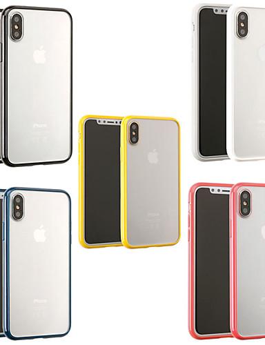 Pouzdro Uyumluluk Apple iPhone XS / iPhone XR / iPhone XS Max Buzlu / Şeffaf Arka Kapak Şeffaf Yumuşak TPU