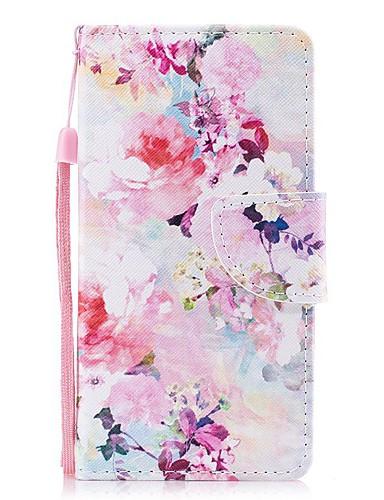 Pouzdro Uyumluluk Apple iPhone XS / iPhone XR / iPhone XS Max Cüzdan / Kart Tutucu / Şoka Dayanıklı Tam Kaplama Kılıf Çiçek PU Deri