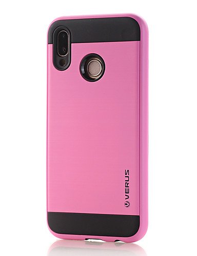 Pouzdro Uyumluluk Huawei Huawei P20 lite Toz Geçirmez / Buzlu Arka Kapak Solid PC