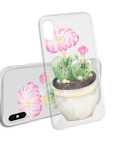 Pouzdro Uyumluluk Apple iPhone XS / iPhone XR / iPhone XS Max Su Geçirmez / Temalı Arka Kapak ağaç / Çiçek TPU