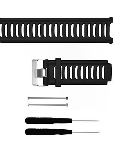 Watch Band için Forerunner 910XT Garmin Spor Bantları Silikon Bilek Askısı