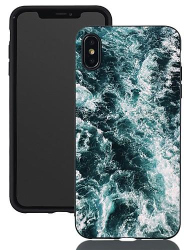 Apple iphone için xr / iphone xs max desen / buzlu / darbeye dayanıklı arka kapak sahne yumuşak tpu için iphone 5 / se / 5 s / 6/6 s artı / 7/8 artı / xs / x