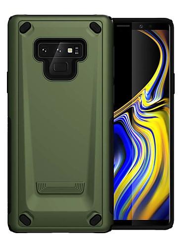 Pouzdro Uyumluluk Samsung Galaxy Note 9 Şoka Dayanıklı Arka Kapak Zırh PC