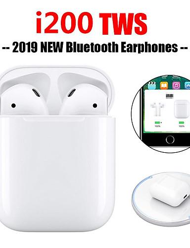 povoljno Headsetovi i slušalice-originalne i200 tws istinske pop up dodirne funkcije bežične slušalice za punjenje bluetooth 5.0 6d bas slušalice