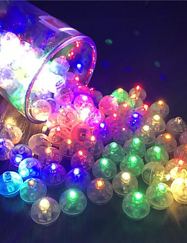 billige Festival-12stk bryter ballong led flash lysende lamper tumbler lys bar lykt jul bryllupsfest dekorasjoner bursdag dekor