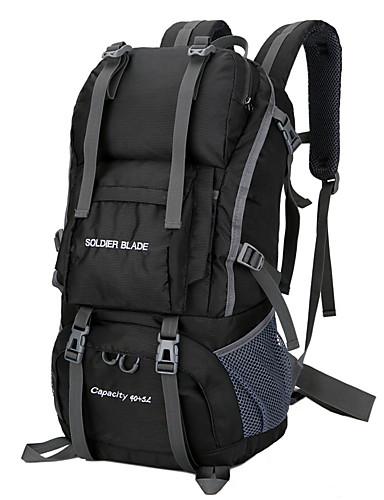 Недорогие Рюкзаки и сумки-Daofeng 55 L Рюкзаки Дышащий Дожденепроницаемый Быстровысыхающий Износостойкость На открытом воздухе Отдых и Туризм Охота Рыбалка Нейлон Черный Зеленый Пурпурный