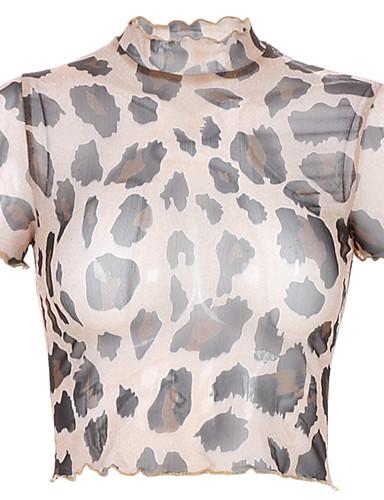 abordables Hauts pour Femmes-Tee-shirt Femme, Fleur Imprimé Basique Marguerite Noir