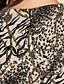 abordables Oferta TS - Hasta 80% de Descuento-ts volante de diseño vestido estampado leopardo