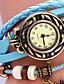 voordelige Mode-accessoires-Aihao Uil Decaretion Watch (Blauw)