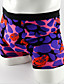 cheap Men's Underwear-Men's Fashion Comfortable Printing Bamboo Fiber Boxer Underwear
