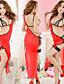 cheap Women's Nightwear-Shuxuer ® Women Polyester Ultra Sexy Nightwear(with T-back And Leg Ring)