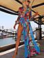 Femme Sans Armature Vêtement couvrant Maille,Mousseline de soie Imprimé