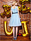 ieftine Rochii de Banchet-Rochie de bal bijuterie gât lungime genunchi organza rochie de balet cu ciorap de ts couture®