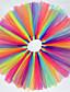 halpa Tyttöjen hameet-Tytön Color Block Mekko Pyhäpäivä Puuvilla Polyesteri Kevät Kesä Syksy Pitsi Oranssi Sininen Vaaleansininen
