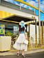 preiswerte Damen Röcke-Damen Röcke Maxi Baumwolle / Polyester / Nylon Mikro-elastisch