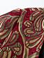 abordables Abrigo y Gabardinas de Mujer-Mujer Tejido Oriental Maxi Abrigo Escote en V Profunda - Floral