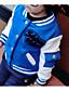 preiswerte Jacken & Mäntel für Mädchen-Unisex Anzug & Blazer Ausgehen Lässig/Alltäglich Einfarbig Baumwolle Kunstseide Winter Lange Ärmel