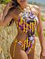 baratos Biquínis e Roupas de Banho Femininas-Mulheres Nadador Monoquíni - Galáxia