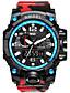 baratos Relógios de Casal-Casal Quartzo Digital Relogio digital Único Criativo relógio Relógio de Pulso Bracele Relógio Relógio Militar Relógio Esportivo Japanês