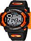 levne Digitální hodinky-Pánské Módní hodinky Digitální hodinky Digitální Silikon Kapela Černá